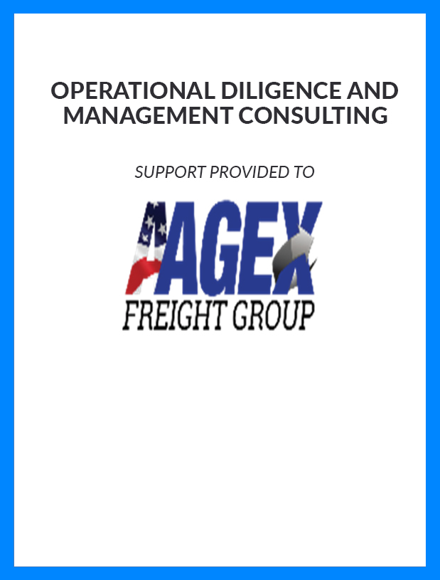 AAGEX Freight Group - Operational Diligence and Management Consulting