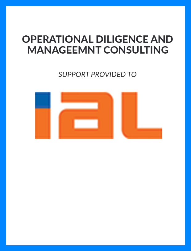 IAL - Operational Diligence and Management Consulting