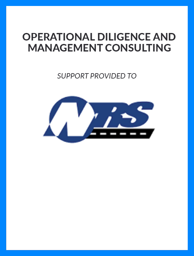 NRS - Operational Diligence and Management Consulting