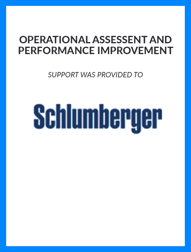 Schlumberger---Operational-Assessment-and-Performance-Improvement