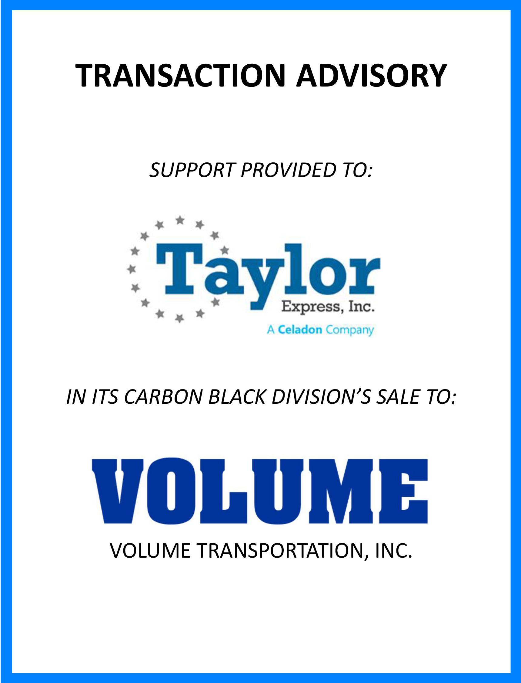 taylor-volume